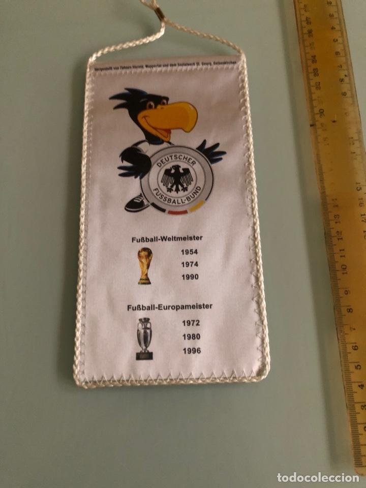 Coleccionismo deportivo: 2006 Mundial Alemania banderin federacion alemana - Foto 2 - 288310728