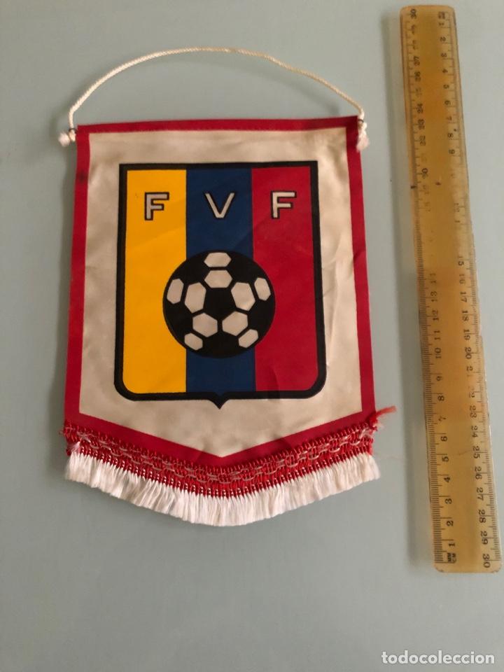 FEDERACIÓN VENEZOLANA FUTBOL BANDERIN AÑOS 70 (Coleccionismo Deportivo - Banderas y Banderines de Fútbol)