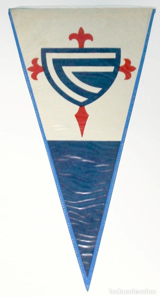 BANDERÍN CELTA DE VIGO AÑOS 50 (Coleccionismo Deportivo - Banderas y Banderines de Fútbol)