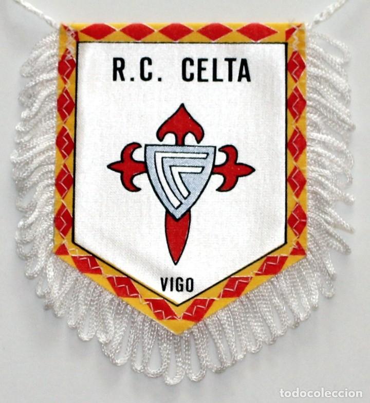 BANDERÍN CELTA DE VIGO AÑOS 90 (Coleccionismo Deportivo - Banderas y Banderines de Fútbol)
