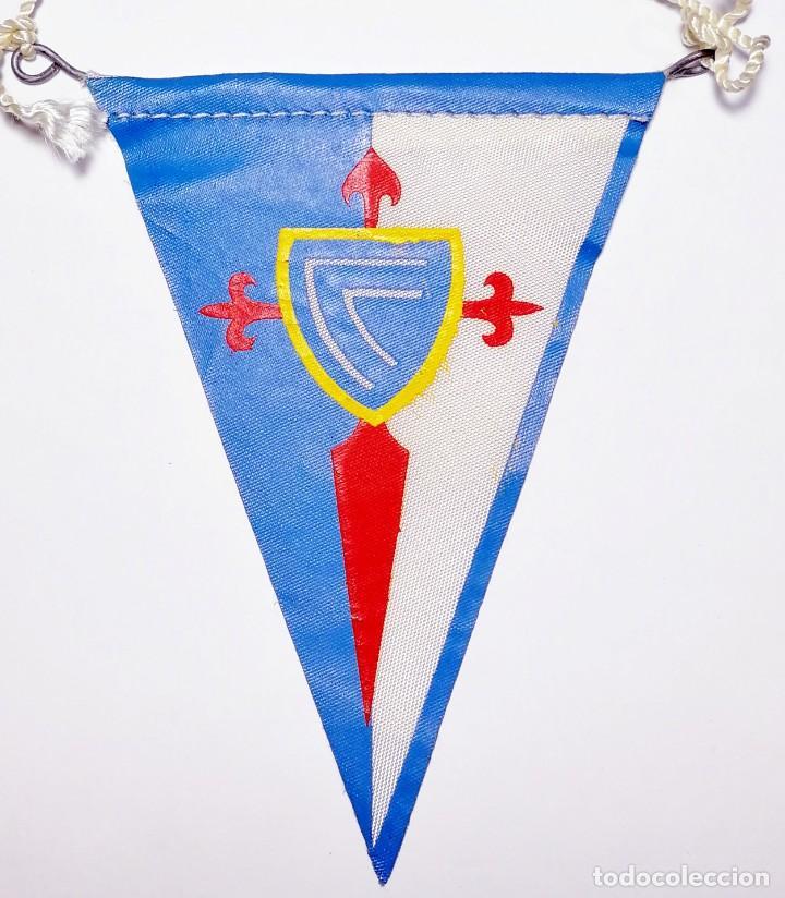 Coleccionismo deportivo: 8 Banderines de Tela Celta de Vigo años 20-30 - Foto 2 - 288601678