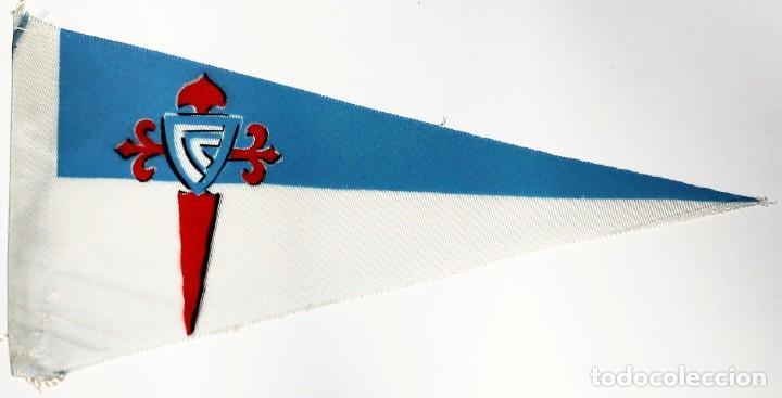 Coleccionismo deportivo: 8 Banderines de Tela Celta de Vigo años 20-30 - Foto 3 - 288601678