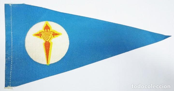 Coleccionismo deportivo: 8 Banderines de Tela Celta de Vigo años 20-30 - Foto 6 - 288601678