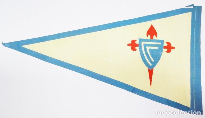 Coleccionismo deportivo: 8 Banderines de Tela Celta de Vigo años 20-30 - Foto 8 - 288601678