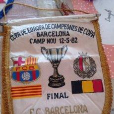 Coleccionismo deportivo: 6 BANDERINES F.C. BARCELONA AÑOS 70 Y 80.. Lote 289704908
