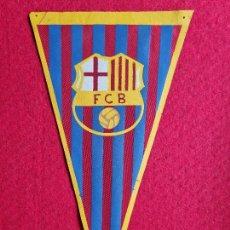 Coleccionismo deportivo: BANDERIN FUTBOL CLUB BARCELONA ORIGINAL. Lote 294008258