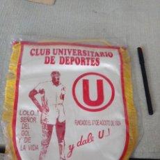 Coleccionismo deportivo: BANDERÍN CLUB UNIVERSITARIO DE DEPORTES LIMA. PERÚ. CURIOSO Y RARO. Lote 294096128