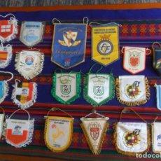 Coleccionismo deportivo: LOTE 11 BANDERÍN FEDERACIÓN DE FUTBOL REGIONAL ESPAÑOLA Y 8 DANONE NATIONS CUP 2011. CON REGALO.. Lote 294854423