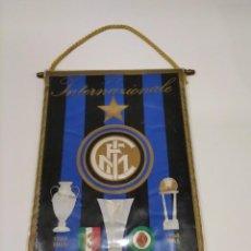 Coleccionismo deportivo: BANDERÍN INTER.. Lote 295783623