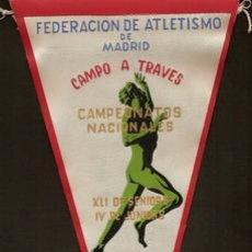 Coleccionismo deportivo: FEDERACION DE ATLETISMO DE MADRID CAMPEONATOS NACIONALES CAMPO A TRAVES. X L I DE SENIORS,1959. Lote 26932054