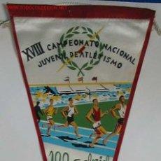 Coleccionismo deportivo: BANDERIN ATLETISMO. Lote 2161184
