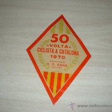 Coleccionismo deportivo: 50 VOLTA CICLISTA A CATALUÑA 1970 ORGANIZACION U D SANS BODAS DE ORO. Lote 10647807