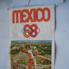 Coleccionismo deportivo: BANDERIN BIMBO OLIMPIADA MEXICO 68. Lote 15438866