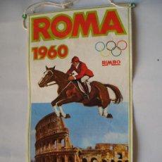 Coleccionismo deportivo: BANDERIN BIMBO OLIMPIADA ROMA 1960. Lote 12233197