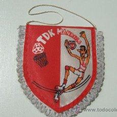 Coleccionismo deportivo: BANDERIN TDK MANRESA. Lote 14409270