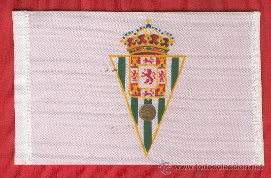10 BANDERITAS SOBREMESA DE 10 X 15 DE FUTBOL DE CORDOBA ESTAMPADAS (Coleccionismo Deportivo - Banderas y Banderines otros Deportes)