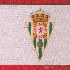 Coleccionismo deportivo: 10 BANDERITAS SOBREMESA DE 10 X 15 DE FUTBOL DE CORDOBA ESTAMPADAS. Lote 141161477