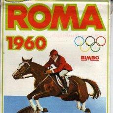 Coleccionismo deportivo: BANDERIN DE LA OLIMPIADA ROMA 1960 DE BIMBO -ITALIA WILMA RUDOLPH. Lote 27913576