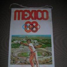 Coleccionismo deportivo: (M-ALB1) BANDERIN BIMBO - OLIMPIADA MEXICO 1968. Lote 29061656