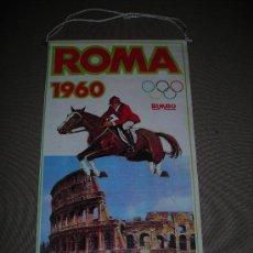 Coleccionismo deportivo: (M-ALB1) BANDERIN BIMBO - OLIMPIADA ROMA 1960. Lote 29061669