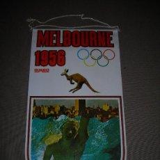 Coleccionismo deportivo: (M-ALB1) BANDERIN BIMBO - OLIMPIADA MELBOURNE 1956. Lote 29061683