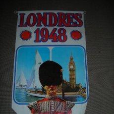 Coleccionismo deportivo: (M-ALB1) BANDERIN BIMBO - OLIMPIADA LONDRES 1948. Lote 29061693