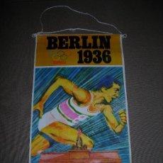 Coleccionismo deportivo: (M-ALB1) BANDERIN BIMBO - OLIMPIADA BERLIN 1936. Lote 29061700