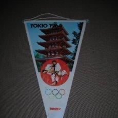 Coleccionismo deportivo: (M-ALB1) BANDERIN BIMBO - OLIMPIADA TOKIO 1964. Lote 29061745
