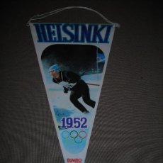 Coleccionismo deportivo: (M-ALB1) BANDERIN BIMBO - OLIMPIADA HELSINKI 1952. Lote 29061773