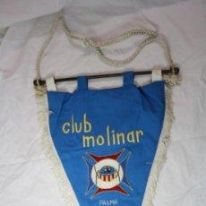 Coleccionismo deportivo: ANTIGUO BANDERIN BALONCESTO CLUB MOLINAR PALMA DE MALLORCA AÑO 1969. Lote 33982580