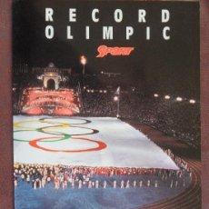 Coleccionismo deportivo: RECUERDO OLIMPICO OLIMPIADAS BARCELONA 1992 TROZO DE VANDERA OLINPICA VER FOTOS . Lote 35963974