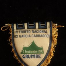 Coleccionismo deportivo: II TROFEO NACIONAL GARCIA CARRASCO 1973 12 CM. Lote 37173331