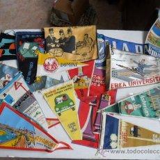 Coleccionismo deportivo: 16 BANDERINES DE LOS AÑOS 50 Y 60 DE HUELVA Y VARIOS. Lote 37769920