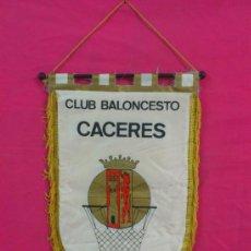 Coleccionismo deportivo: BANDERIN CLUB BALONCESTO CACERES . BASKET. . Lote 37867977