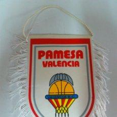 Coleccionismo deportivo: BANDERIN PEQUEÑAS DIMENSIONES PAMESA VALENCIA. BASKET. BALONCESTO.. Lote 38345062