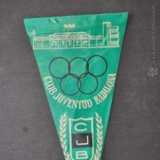 Coleccionismo deportivo: BANDERIN DE CLUB JOVENTUT BADALONA. AÑO 1962. Lote 41379600