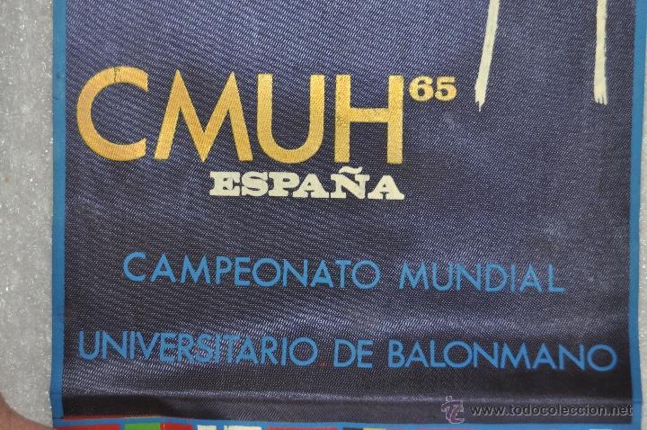 Coleccionismo deportivo: LOTE DE 9 BANDERINES DE BALONMANO. CLUBES Y FEDERACIONES - Foto 4 - 41397066