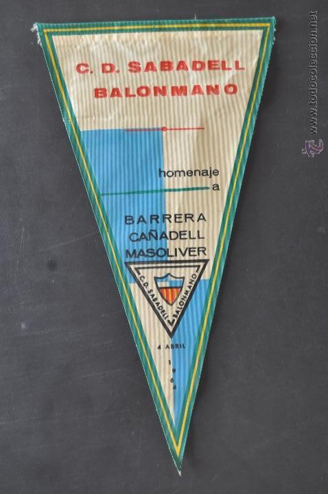 Coleccionismo deportivo: LOTE DE 9 BANDERINES DE BALONMANO. CLUBES Y FEDERACIONES - Foto 7 - 41397066