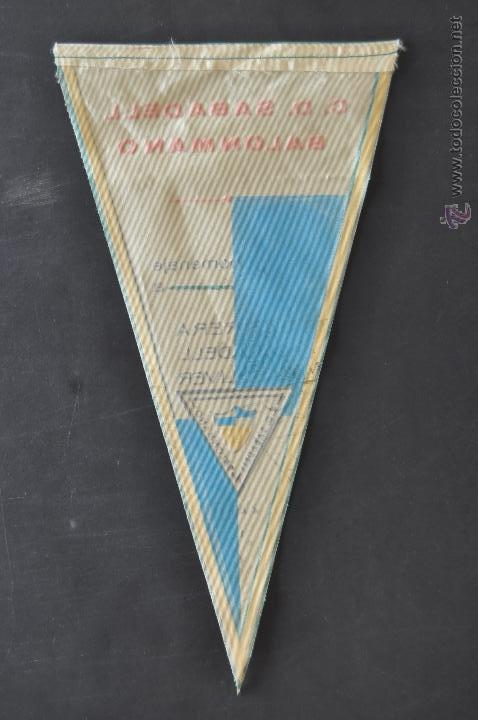 Coleccionismo deportivo: LOTE DE 9 BANDERINES DE BALONMANO. CLUBES Y FEDERACIONES - Foto 8 - 41397066