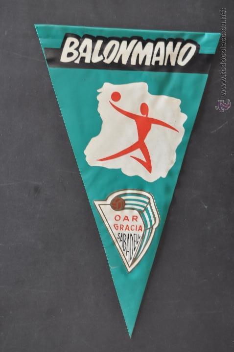 Coleccionismo deportivo: LOTE DE 9 BANDERINES DE BALONMANO. CLUBES Y FEDERACIONES - Foto 9 - 41397066