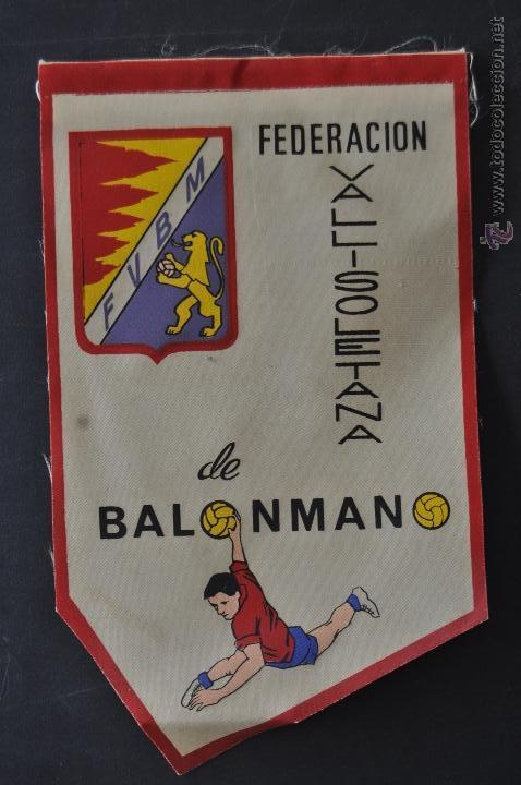 Coleccionismo deportivo: LOTE DE 9 BANDERINES DE BALONMANO. CLUBES Y FEDERACIONES - Foto 11 - 41397066