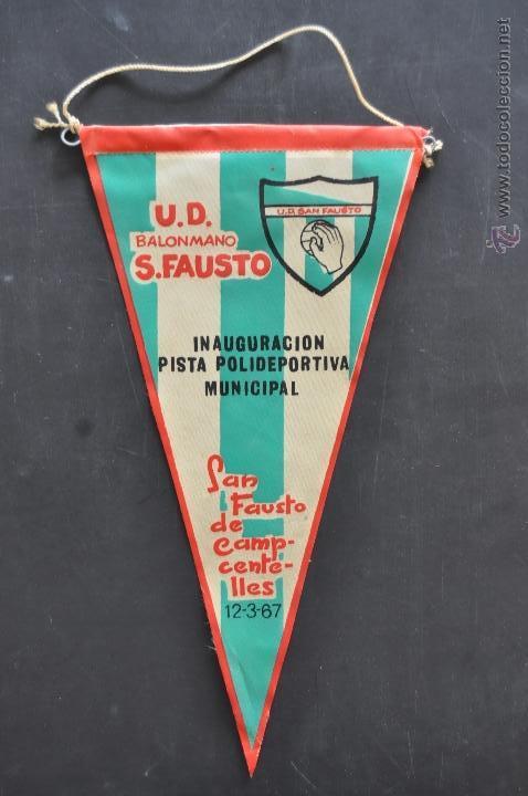 Coleccionismo deportivo: LOTE DE 9 BANDERINES DE BALONMANO. CLUBES Y FEDERACIONES - Foto 13 - 41397066