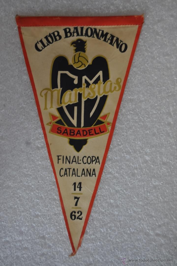 Coleccionismo deportivo: LOTE DE 9 BANDERINES DE BALONMANO. CLUBES Y FEDERACIONES - Foto 15 - 41397066