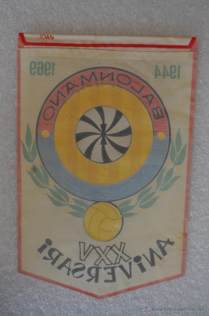 Coleccionismo deportivo: LOTE DE 9 BANDERINES DE BALONMANO. CLUBES Y FEDERACIONES - Foto 17 - 41397066