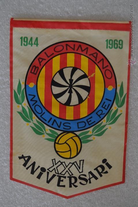 Coleccionismo deportivo: LOTE DE 9 BANDERINES DE BALONMANO. CLUBES Y FEDERACIONES - Foto 18 - 41397066
