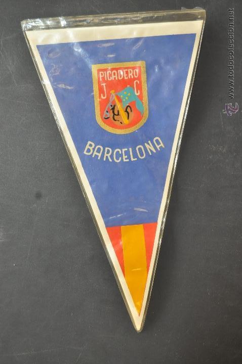 BANDERIN DEL PICADERO J.C. BARCELONA (Coleccionismo Deportivo - Banderas y Banderines otros Deportes)