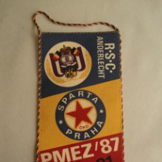 Coleccionismo deportivo: ANDERLECHT-SPARTA PRAGA. PMEZ'87 24X12. Lote 41688465