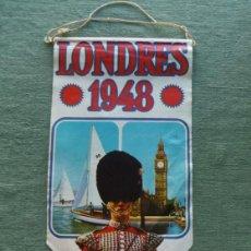 Coleccionismo deportivo: BANDERIN DE LAS OLIMPIADAS DE LONDRES 1948 - PUBLICIDAD BIMBO. Lote 41753578