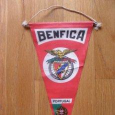 Coleccionismo deportivo: BANDERIN BENFICA, AÑOS 70 , 80. Lote 42629156