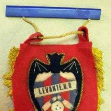 Coleccionismo deportivo: BANDERIN LEVANTE BOLOS U.D.. Lote 42725979